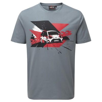 TOYOTA GAZOO Racing WRC-Rennwagen T-shirt