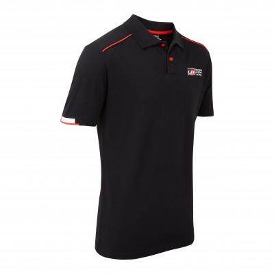 TGR 18 Herren-Polohemd, schwarz