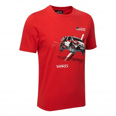 WRC 18 Rennwagen-T-Shirt für Kinder
