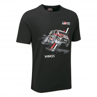 WRC 18 Auto-T-Shirt für Herren
