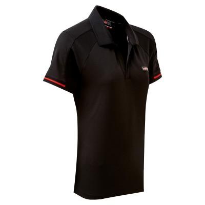 TOYOTA GAZOO Racing Lifestyle Damen-Poloshirt, schwarz