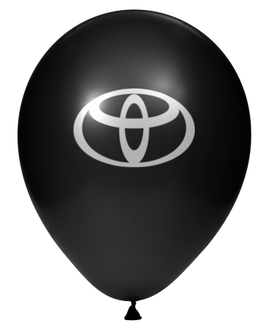 Luftballon schwarz