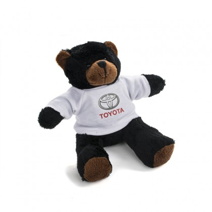 Teddybär aus weichem Plüsch mit Toyota-T-Shirt