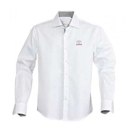 weißes klassisches Baumwollhemd - Mode Linie