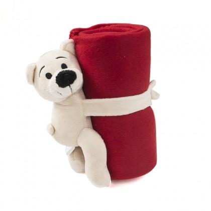Decke mit Teddybär - Kinder