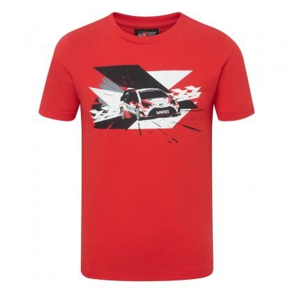 TOYOTA GAZOO Racing WRC-Rennwagen T-shirt für Kinder