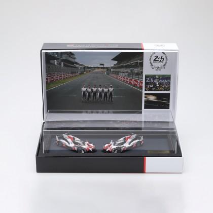 Le Mans Podium Modellautosatz 2019 im Maßstab 1:43