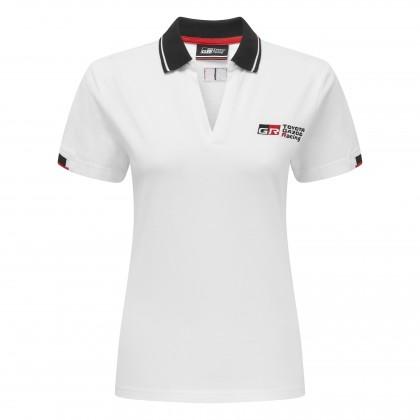 TGR 18 Damen-Polohemd, weiß