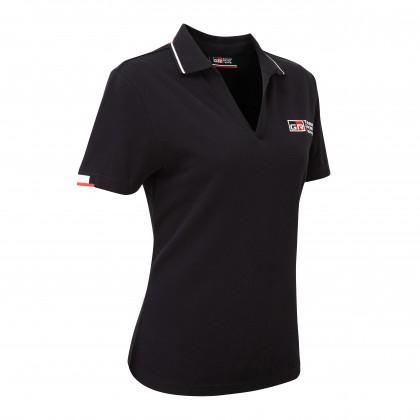TGR 18 Damen-Polohemd, schwarz