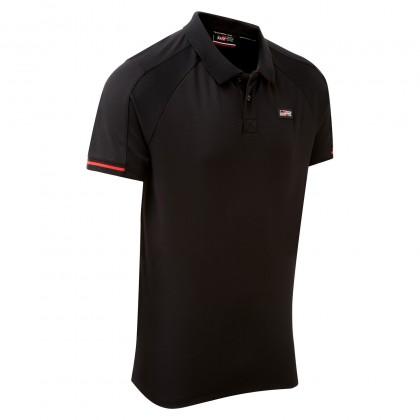 TOYOTA GAZOO Racing Lifestyle Herren-Poloshirt, schwarz