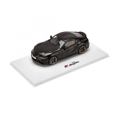 Supra Racing schwarzes metallic Modellauto im Maßstab 1-43