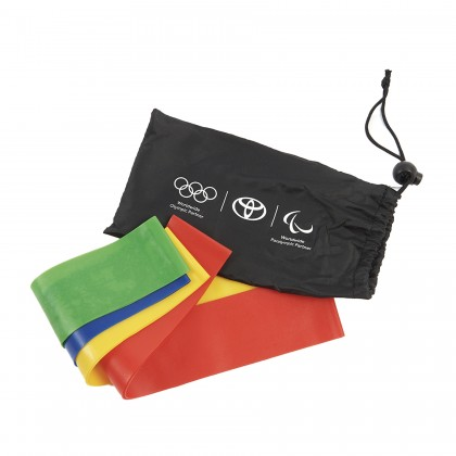 Fitnessbänder im 4er-Set
