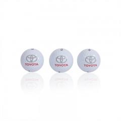Satz mit 3 Golfbällen