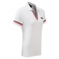 TOYOTA GAZOO Racing Lifestyle Damen-Poloshirt, weiß