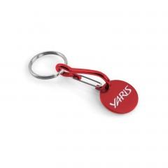 Yaris Schlüsselanhänger mit Einkaufswagenchip